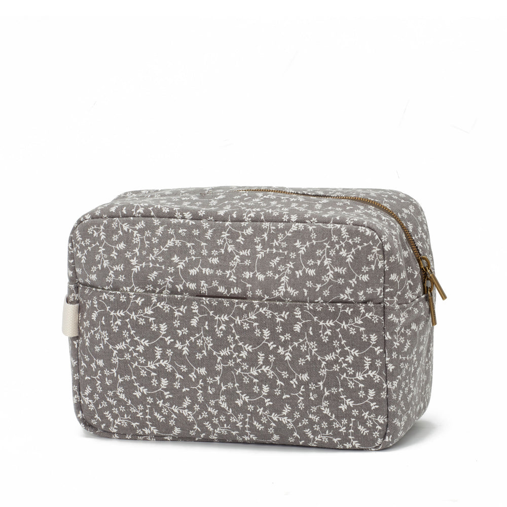 My Bag's Geanta pentru cosmetice - Liberty Flowers Dark Grey - Adinish.com