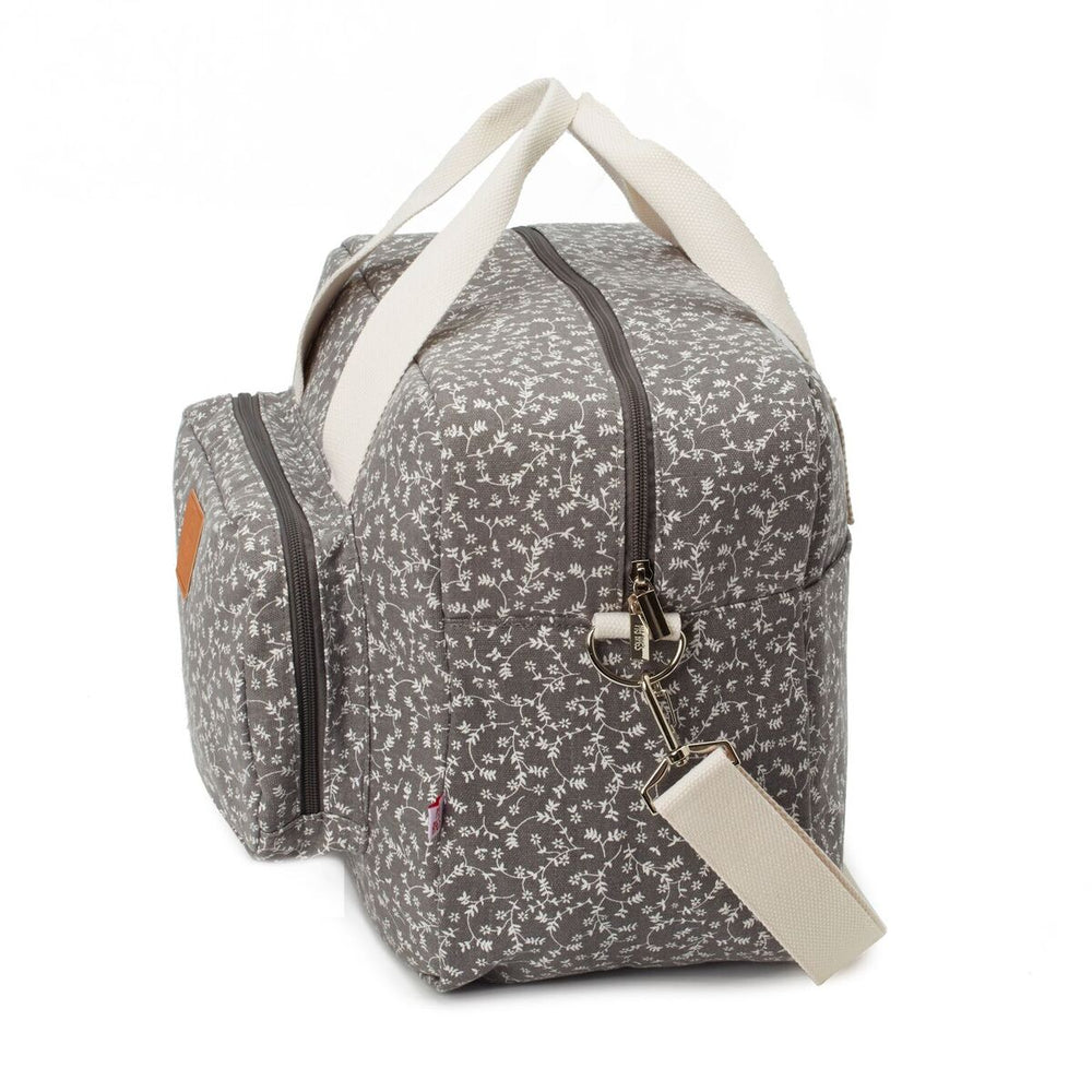 My Bag's Geanta pentru maternitate - Dark Gray Liberty Flowers