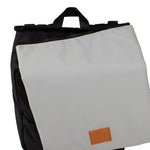 My Bag's Rucsac cu clapeta Eco Recycled - Grey - Adinish.com