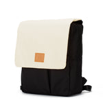 My Bag's Ghiozdan cu clapeta Eco Recycled - Cream