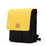 My Bag's Ghiozdan cu clapeta Eco Recycled - Yellow