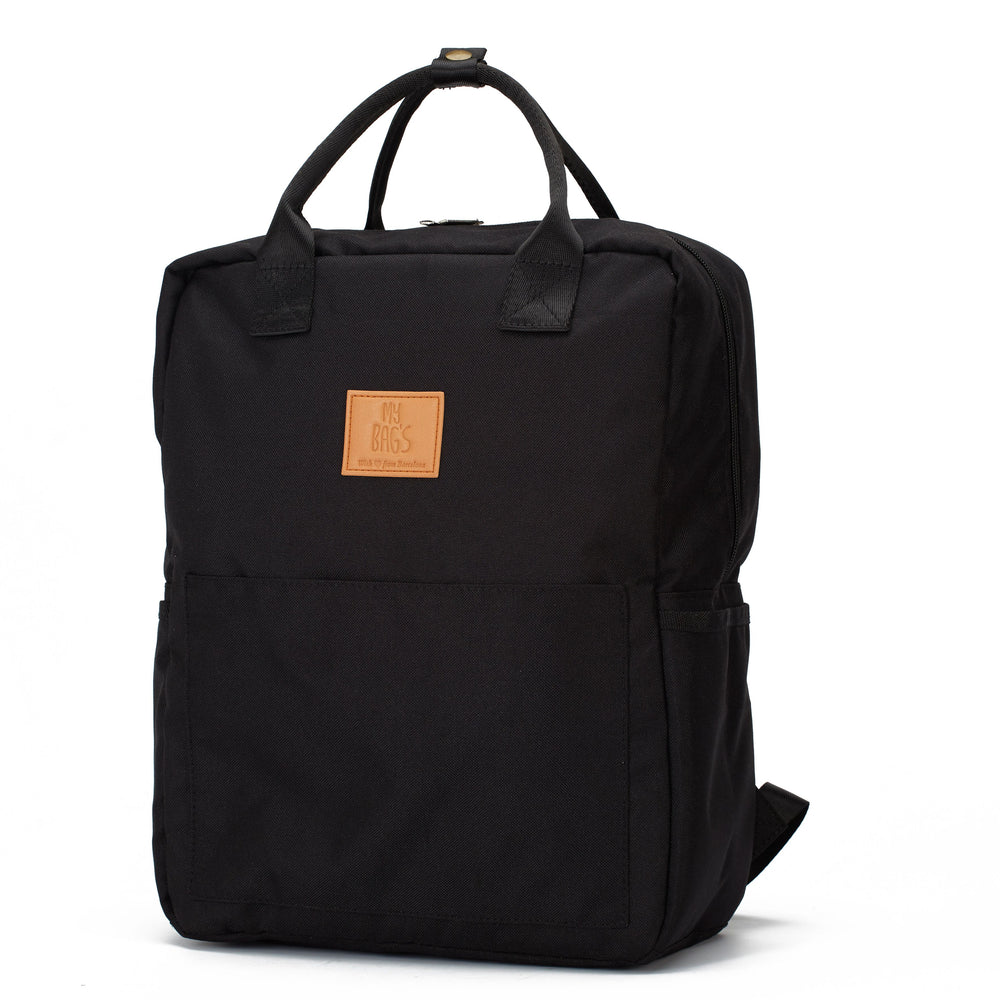 My Bag's Ghiozdan master Eco Recycled - Black