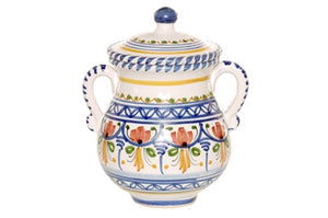 """Sugar Bowl with Cover 6.50"""" Tall"""