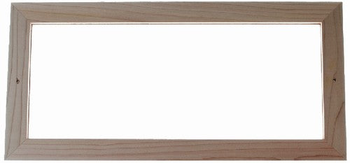 Cedar Frame for 4 Numbers