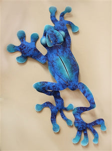 "Airbrushed Frog 17"" x 9"""