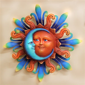 Airbrushed Sun face LG 21""