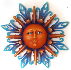 Airbrushed Sun face XLG 33""