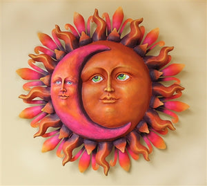 Airbrushed Sun face XLG 30""