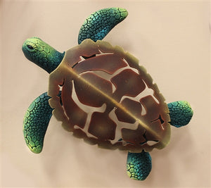 "Airbrushed Turtle 11"" x 10"""