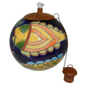 Tropical Fish Style Table Top Torch