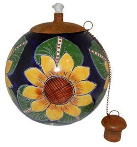 Sunflower Style Table Top Torch