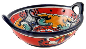 """Bowl w/ two handles 5.5"""" DIA"""