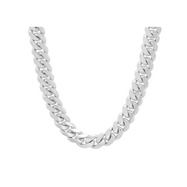 12.5mm Sterling Silver Cuban Link
