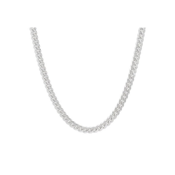 6.8mm Sterling Silver Cuban Link
