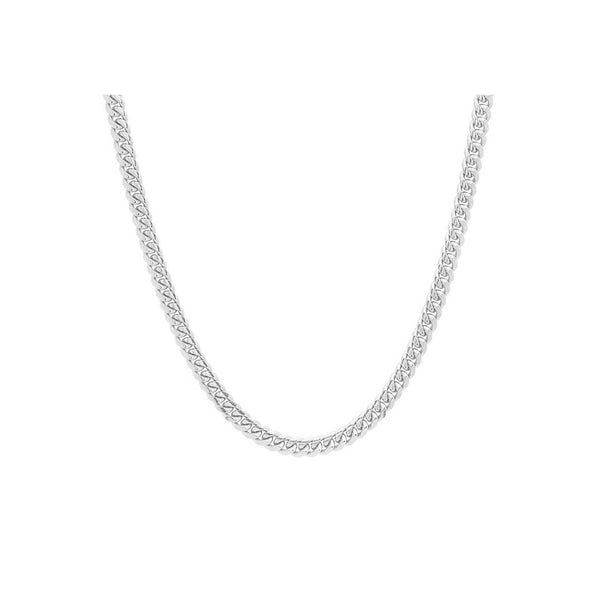 5.3mm Sterling Silver Cuban Link