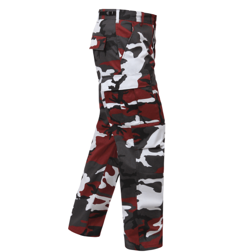 Army Camo Pant - OX Blood