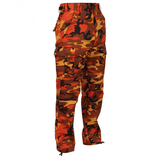 Army Camo Pant - Savage Orange