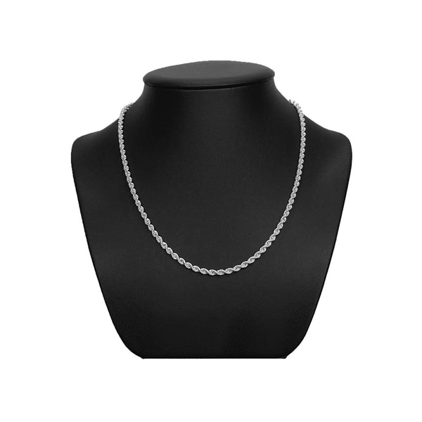 3.2mm Sterling Silver Rope Chain