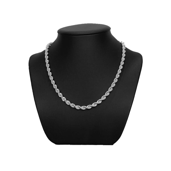 4.5mm Sterling Silver Rope Chain