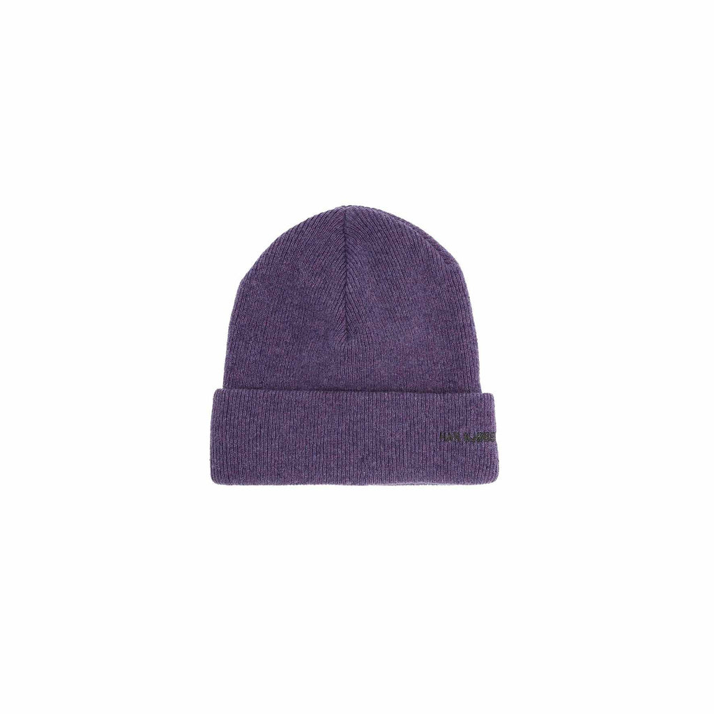 Top Beanie Logo Purple