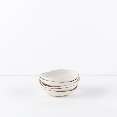 five small bowls