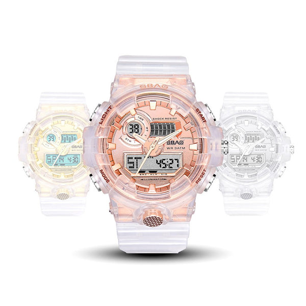 Transparent Electronic Wristwatch