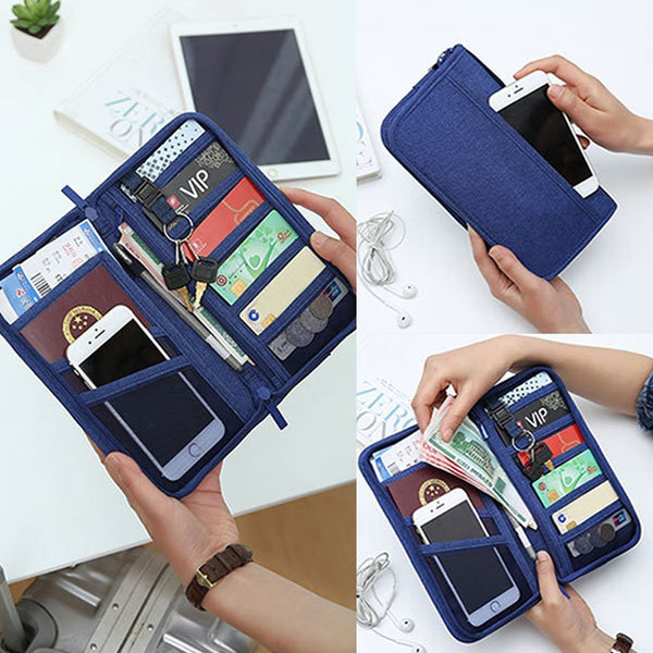 Credit Cards Coin Travelling Container