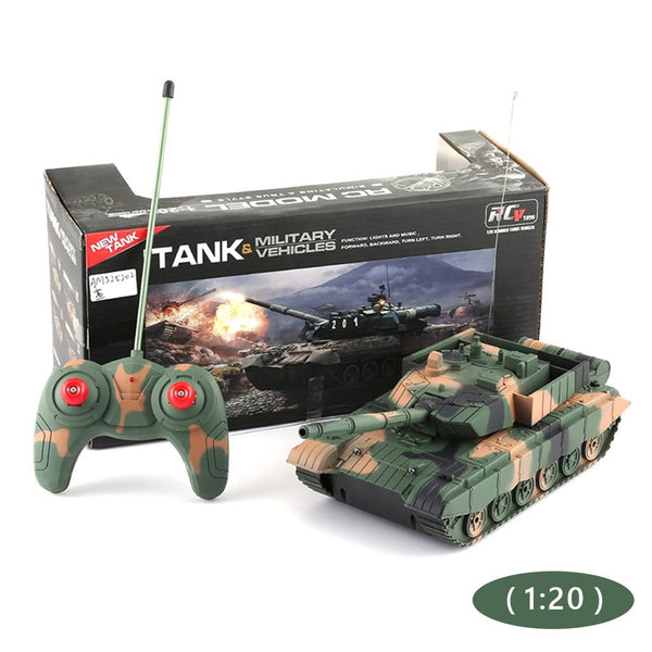 4CH RC Tank Toy