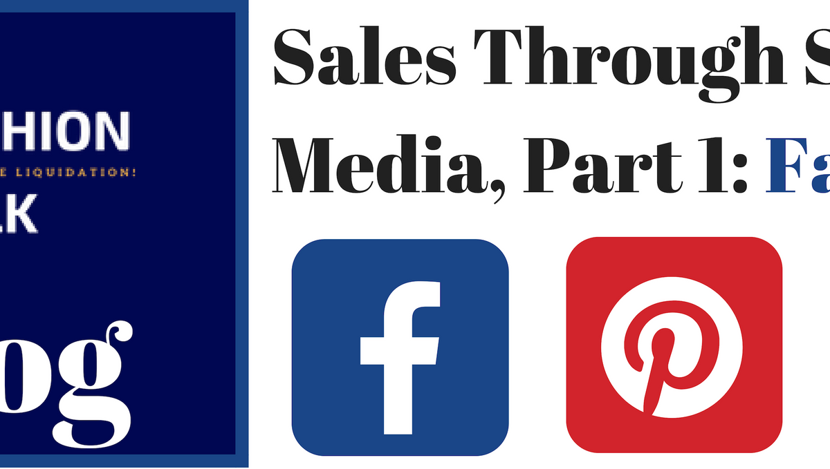 Sales Through Social Media for your eCommerce Fashion Store: Facebook