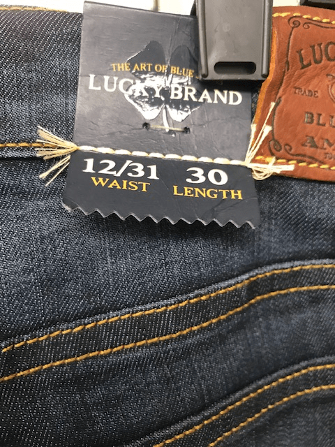 Lucky Brand Jeans | Womens | 24 Piece Case Pack | Sizes 24-34 | $11.95/pc | ON SALE