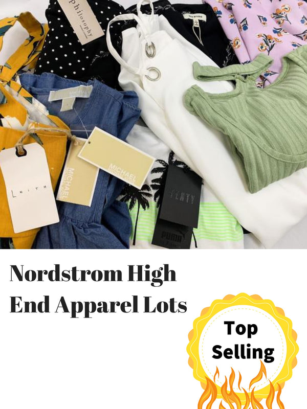 wholesale name brand apparel liquidations, nordstrom clothing bulk