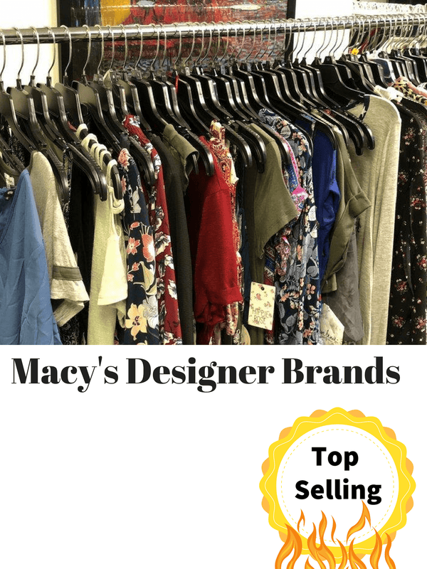 Macy's Clothing Liquidations, Apparel Wholesale, clothing shelf pulls, department store closeouts