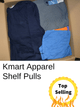 Kmart Apparel | Shelf Pulls | Assorted Lot | 75 Pieces