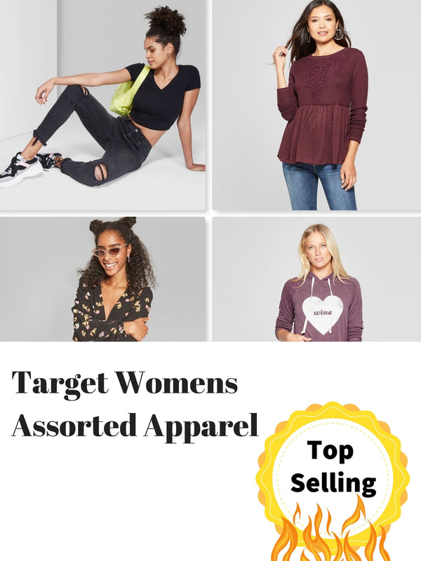 Target Womens Assorted Apparel Lot | Shelf Pulls | 100 Pieces | $1.99/pc
