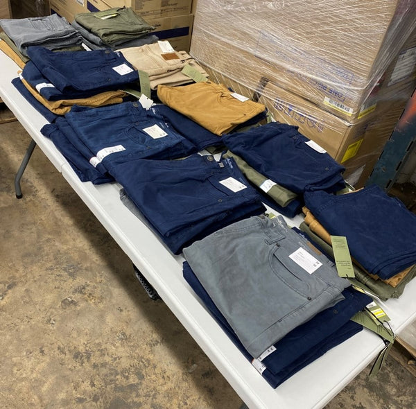 Goodfellow & Co Twill Pants | Manifested Pants Lot | Shelf Pulls | 46 Pieces