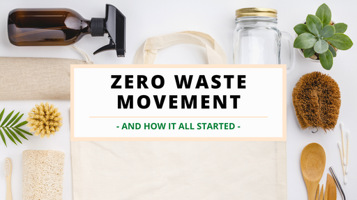 Zero Waste Movement: The History & The Beginnings
