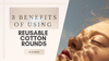 3 Benefits of using Reusable Cotton Rounds