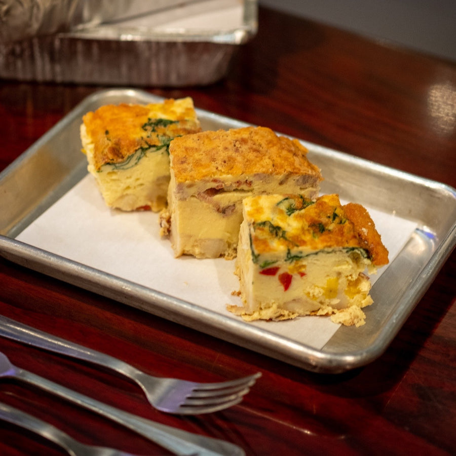 Frittatas from RedEye Coffee in Tallahassee, FL.