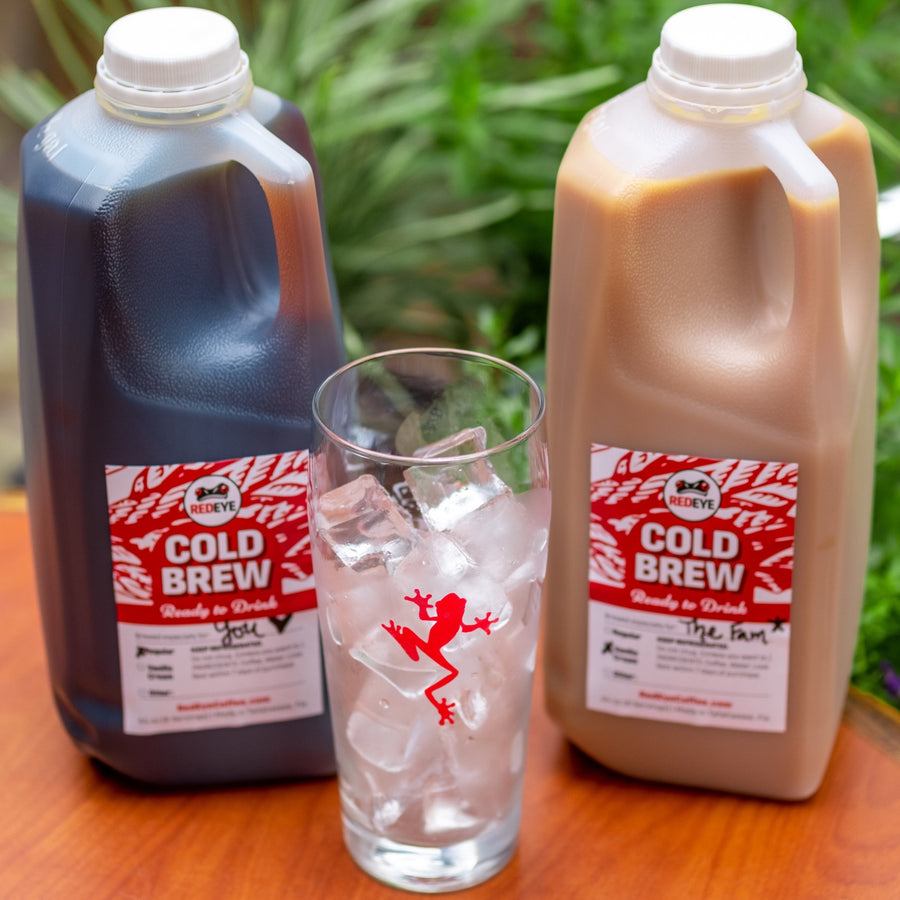 Ready to Drink Cold Brew by RedEye Coffee Tallahassee, FL.