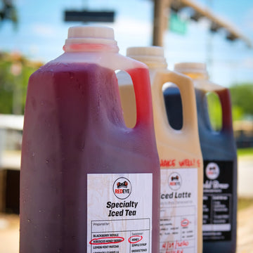 Specialty To Go Jugs from RedEye Coffee in Tallahassee, FL.