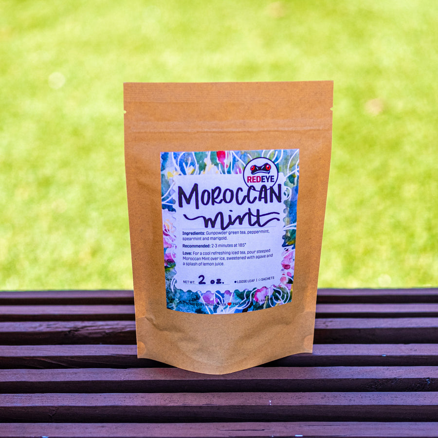 Moroccan Mint located at RedEye Coffee in Tallahassee, FL