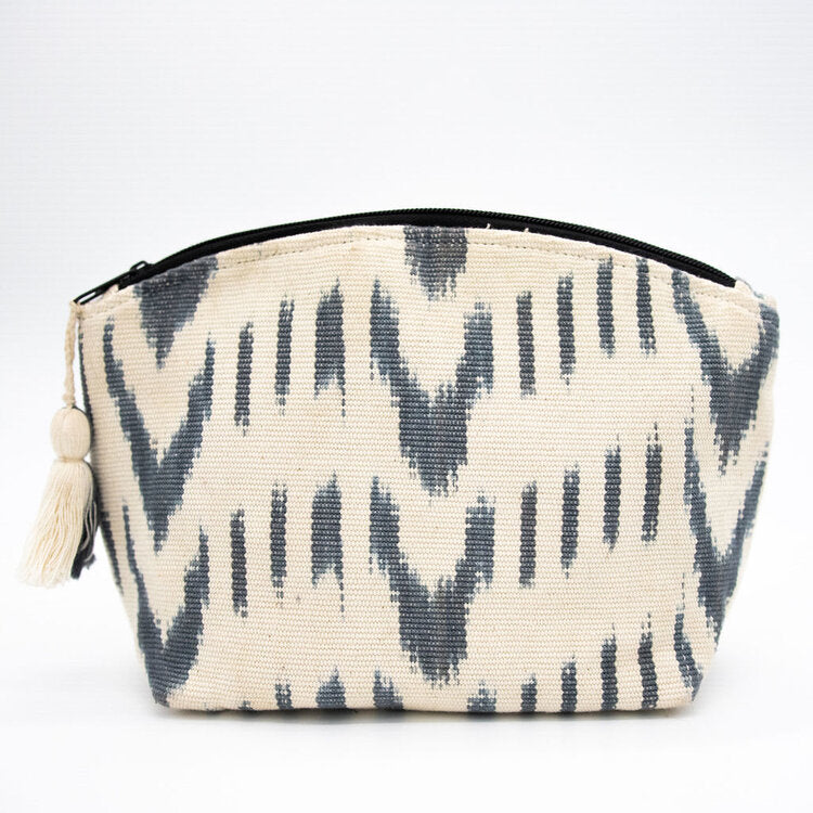 Cielo Cosmetic bag from Woven Futures in Tallahassee, FL.