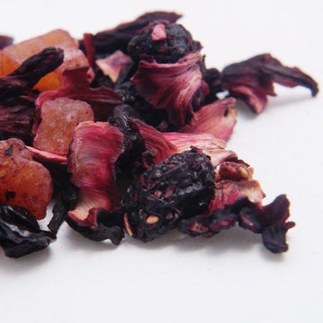 Blackberry Royale loose leaf herbal tea fruity tart TeBella tea company  Tallahassee