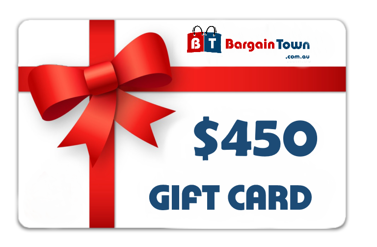 $450 BT Gift Card Afterpay - BargainTown
