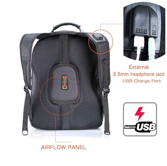 Swiss Ultimate Multi-Compartment Waterproof Travel Backpack Afterpay - BargainTown