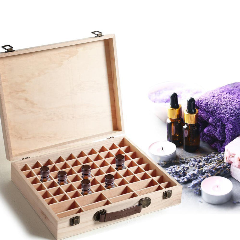 Wooden Essential Oil Storage Box Afterpay - BargainTown