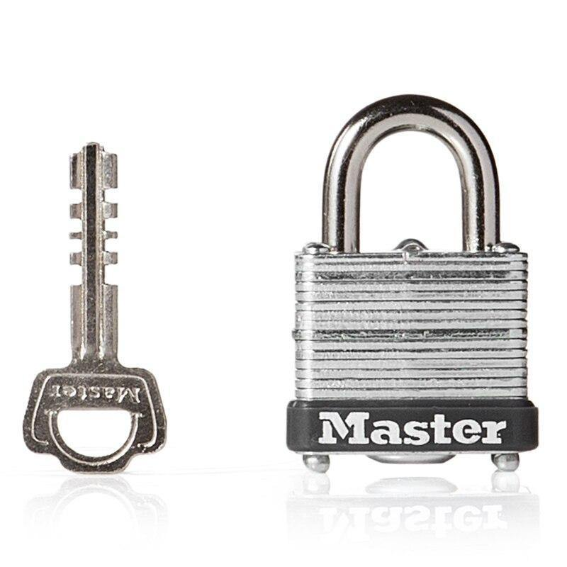 Waterproof Laminated Steel Keyed Padlock - BargainTown