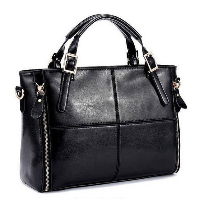 Luxury Split Leather Tote Afterpay - BargainTown