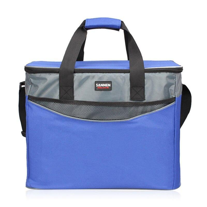 34L Large Oxford Thermal Cooler Bag Afterpay - BargainTown