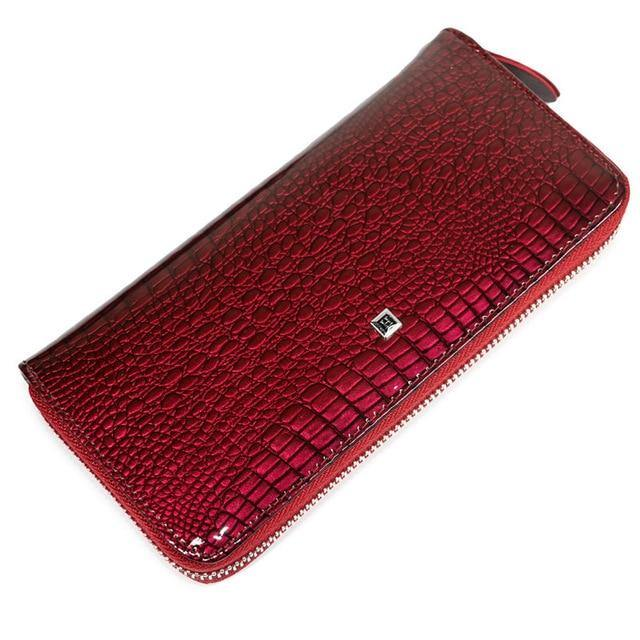 Genuine Leather Luxury Wrist Wallet Afterpay - BargainTown